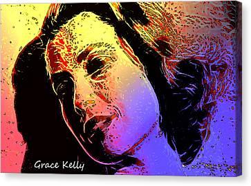 Grace Canvas Print by Steve K