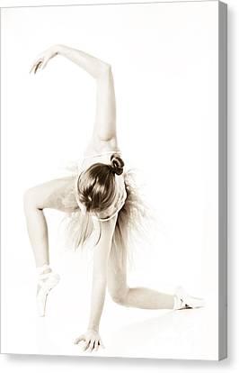 Graceful Ballet Dancer  Canvas Print