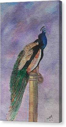 Graceful Canvas Print by Usha Rai