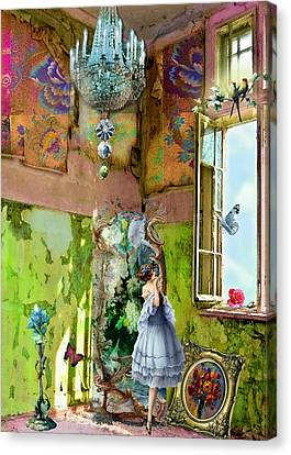 Grace's Window Canvas Print by Laura Botsford
