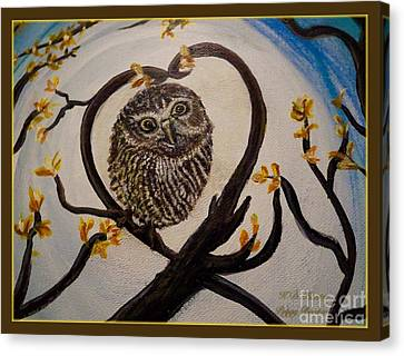 The Nature Center Canvas Print - Graciela Finds Her Heart Song I  by Kimberlee Baxter