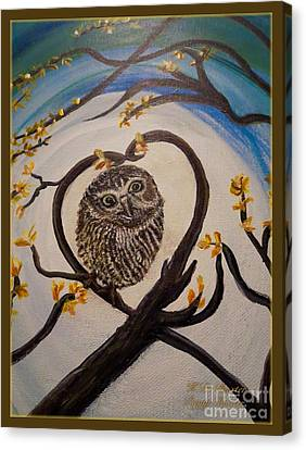 The Nature Center Canvas Print - Graciela Finds Her Heartsong Closeup II by Kimberlee Baxter
