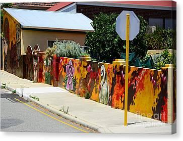 Graffiti   Canvas Print by Bobby Mandal