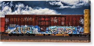 Dean Russo Canvas Print - Graffiti - Alien by Graffiti Girl