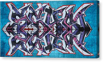 Dean Russo Canvas Print - Graffiti - Arrows by Graffiti Girl