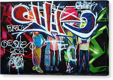Graffiti Art Canvas Print