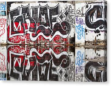 Graffiti Canvas Print by Carol Leigh