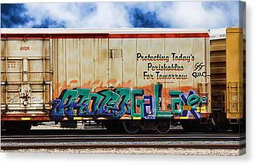 Dean Russo Canvas Print - Graffiti - Galaxee by Graffiti Girl