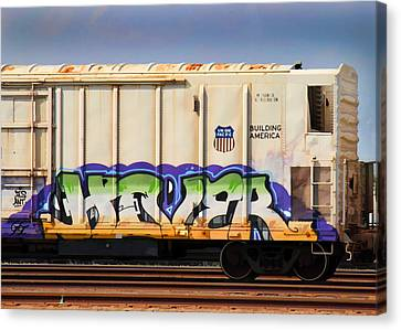 Dean Russo Canvas Print - Graffiti - Hover by Graffiti Girl