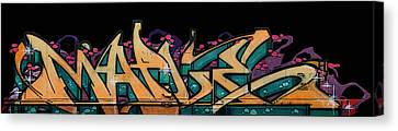 Dean Russo Canvas Print - Graffiti - Lady M by Graffiti Girl