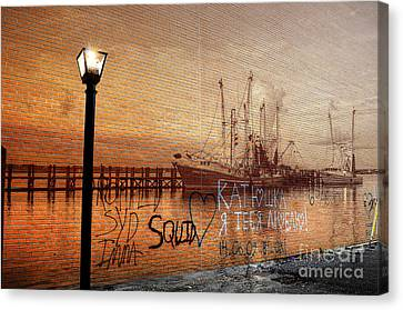 Graffiti Canvas Print