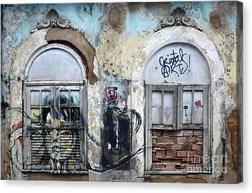 Graffiti Salvador Brazil 12 Canvas Print by Bob Christopher