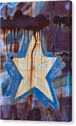 Graffiti Star Canvas Print