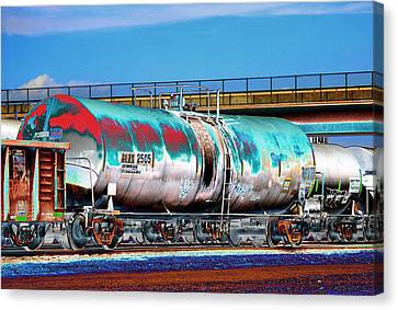 Dean Russo Canvas Print - Graffiti - Toxic Tanker II by Graffiti Girl