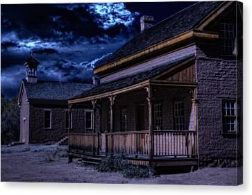 Grafton Ghost Town In Southern Utah Canvas Print by Utah Images