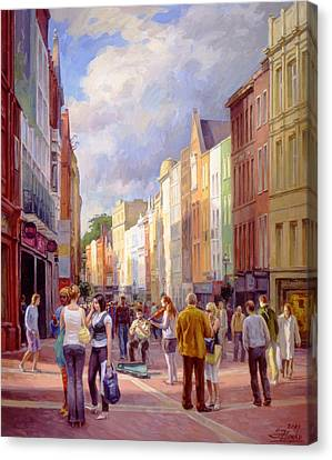 Grafton Street. Dublin Canvas Print