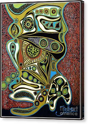 Grain De Folie.. Canvas Print