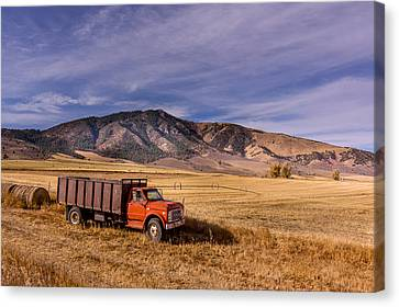 Grain Truck Canvas Print