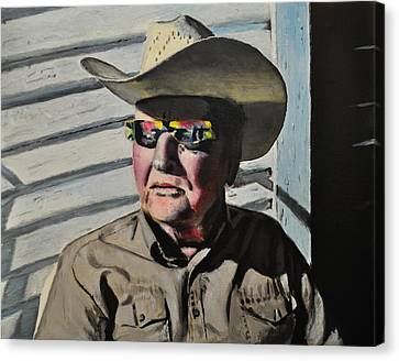 Gramps Canvas Print