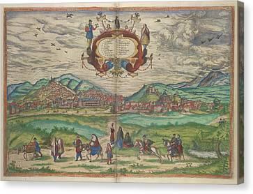 Granada Canvas Print by British Library