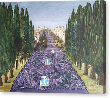 Grand Avenue  Canvas Print by Christiane Schulze Art And Photography
