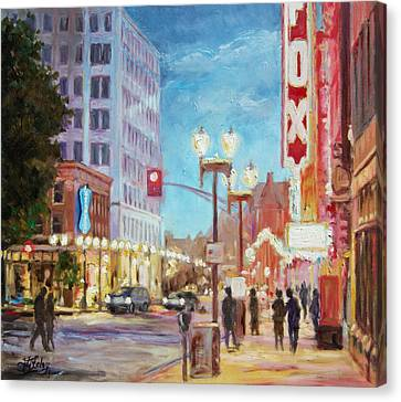 Grand Boulevard St.louis Canvas Print by Irek Szelag
