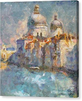 Grand Canal Canvas Print by Dragica  Micki Fortuna