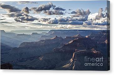 Grand Canyon At Sunset Canvas Print by Shishir Sathe