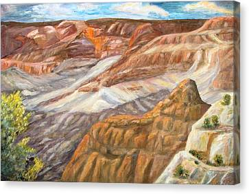 Grand Canyon Canvas Print by Caroline Owen-Doar