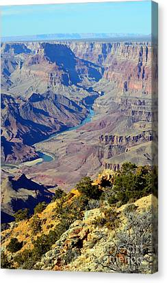 Grand Canyon Eastern Sunset View Canvas Print