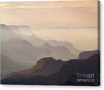 Grand Canyon From Lipan Point Canvas Print by Alex Cassels