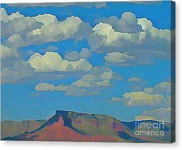 Grand Canyon Horizon Canvas Print by John Malone