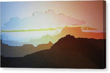 Grand Canyon Canvas Print by John  Svenson