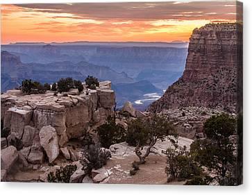 Grand Canyon Morning Canvas Print