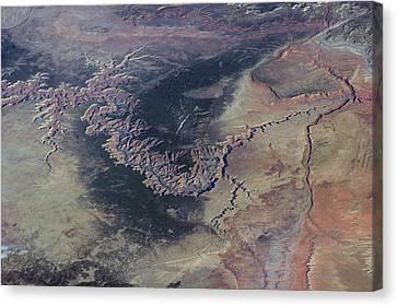 Grand Canyon Canvas Print by Nasa