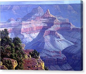 Corner Canvas Print - Grand Canyon by Randy Follis
