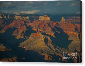 Canvas Print featuring the photograph Grand Canyon by Rod Wiens
