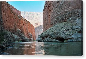 Canvas Print featuring the photograph Grand Canyon Sky by Tony Mathews