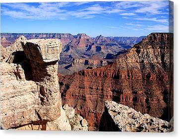 Grand Canyon - South Rim View Canvas Print by Aidan Moran