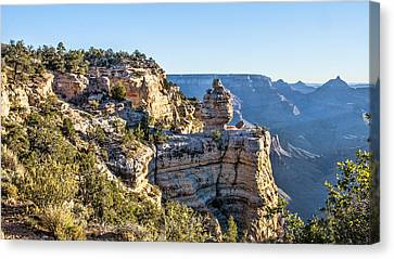 Grand Canyon Sunrise Canvas Print by Daniel Hebard