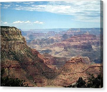 Canvas Print featuring the photograph Grand Canyon View 3 by Philomena Zito