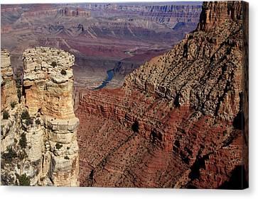 Grand Canyon View Canvas Print by Aidan Moran