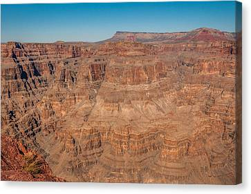 Grand Canyon View Canvas Print by Chris Holmes