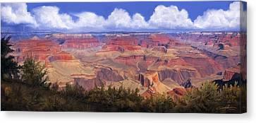 Dale Jackson Canvas Print - Grand Canyon View by Dale Jackson