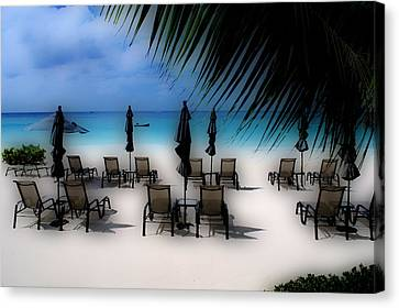 Canvas Print featuring the photograph Grand Cayman Dreamscape by Caroline Stella