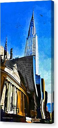 Grand Central #2 Canvas Print by Aleksander Rotner