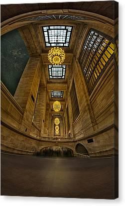 Grand Central Corridor Canvas Print by Susan Candelario