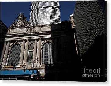 Grand Central In Evening Shadows Canvas Print by David Bearden