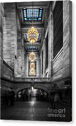 Hannes Cmarits Canvas Print - Grand Central Station IIi Ck by Hannes Cmarits