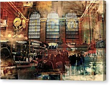 Grand Central Terminal 100 Years Canvas Print by Diana Angstadt